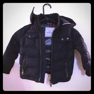 Navy Moncler jacket size 2.